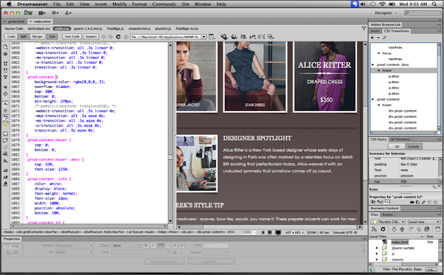 Download Dreamweaver CS6 Free live preview image