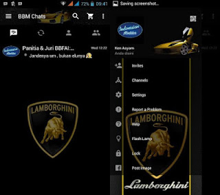 BBM MOD Lamborghini Versi 3.0.0.18