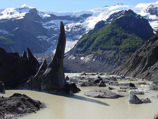 Pontos turísticos no Lago Mascardi em Bariloche