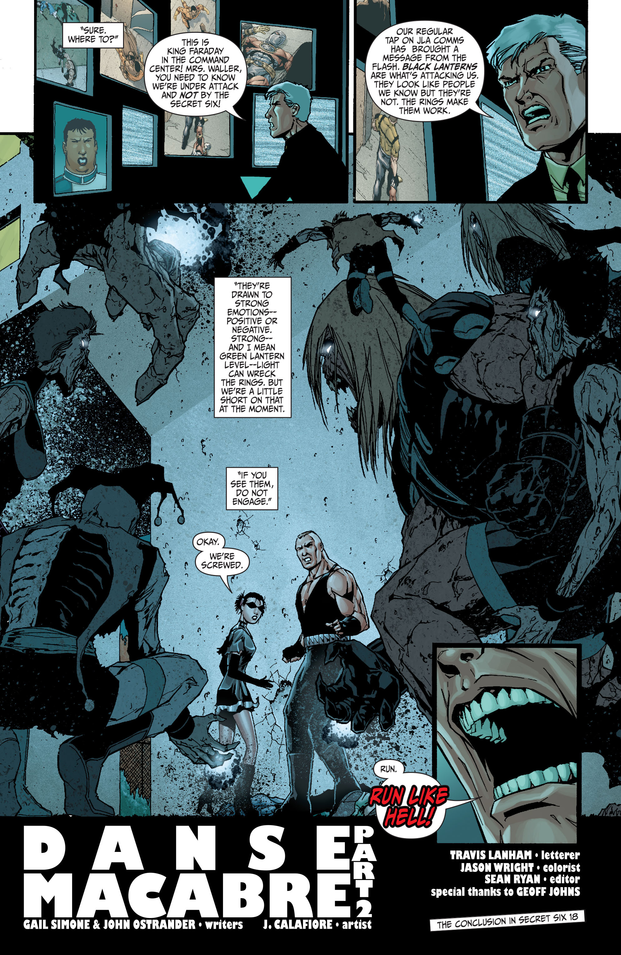Read online Secret Six (2008) comic -  Issue #17 - 22