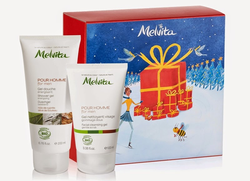Men's Essential, Men Facial Cleansing Gel, Men Shower Gel, Melvita Christmas Gift Sets, Melvita, Melvita Malaysia, Christmas Set, Christmas Gift