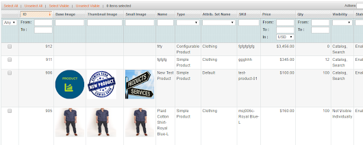 Add Product Image Column on Manage Products Grid in Magento Admin