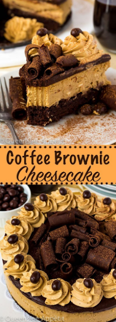 Best Coffee Brownie Cheesecake