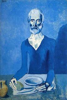 Пабло Пикассо. Аскет. 1901
