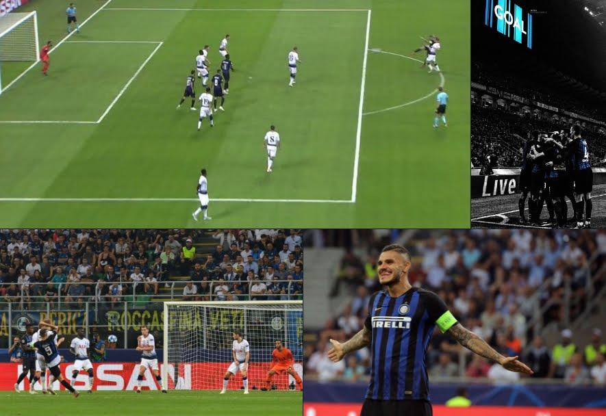 Pazza Inter in Champions: rimonta il Tottenham con un eurogol di Icardi e vince con Vecino.