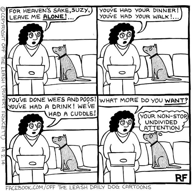 (C) 2019, Off the Leash Dog Cartoons by Rupert Fawcett