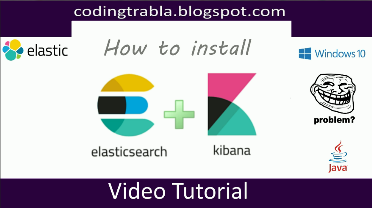 codingtrabla: How to install ElasticSearch + Kibana 5 6 3 on Windows 10