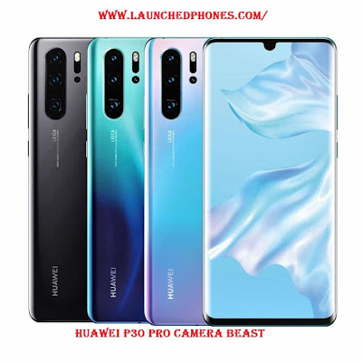 These smartphones are launched equally the P Huawei P30 Pro launched equally P20 Pro upgrade