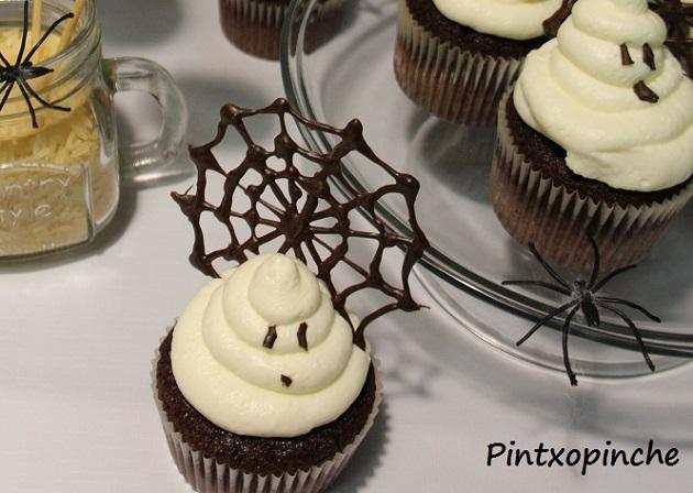 halloween, cupcakes, pastel, galletas, chocolate, frosting, recetas sin gluten