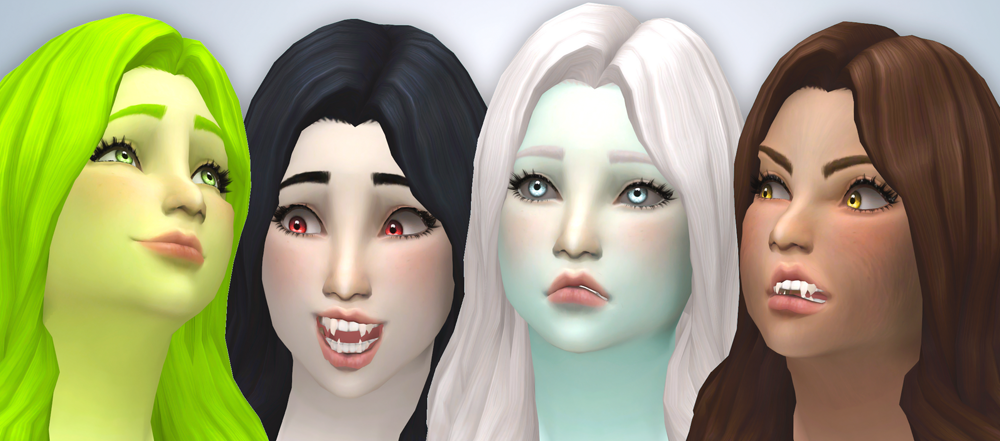 My Sims 4 Blog: Glossy Replacement Eyes by Noodlescc