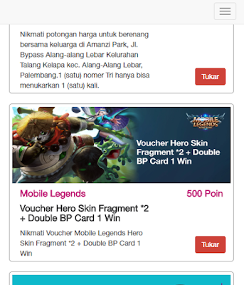 Cara Tukar Bonstri dengan Voucher Hero Skin Fragments Mobile Legends