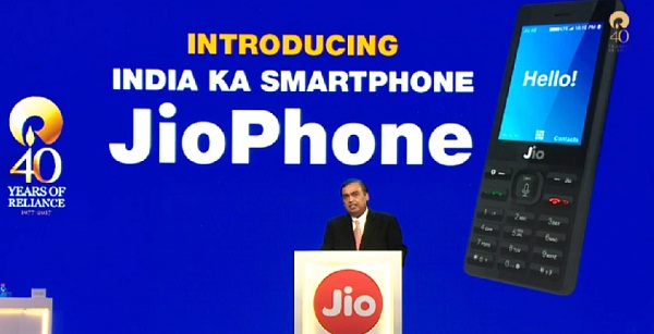 New Delhi, Reliance, Jio, 4G Phone, Mukesh Ambani, Jiophone, Reliance Jiophone Feature, Jiophone Price