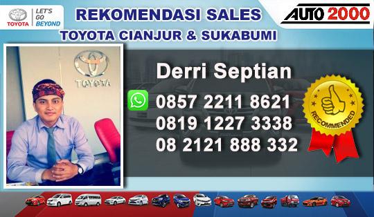 Rekomendasi Sales Toyota Cipanas Cianjur