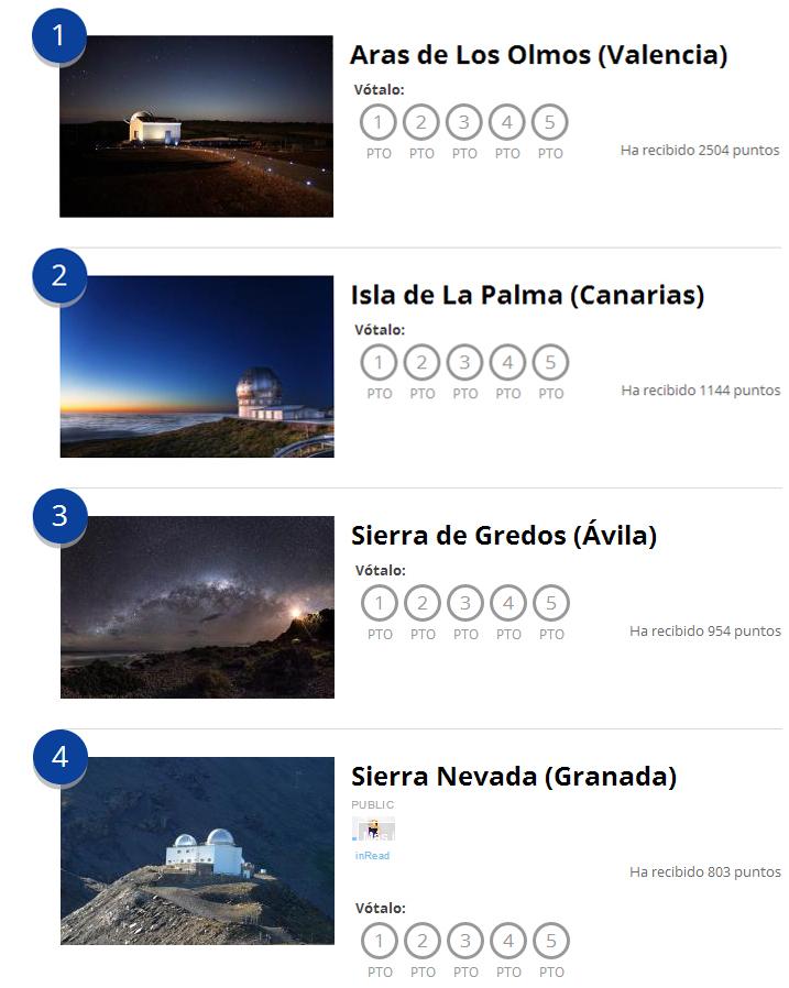 Observatorio La Cambra Aras De Los Olmos El Mejor Lugar De Espana