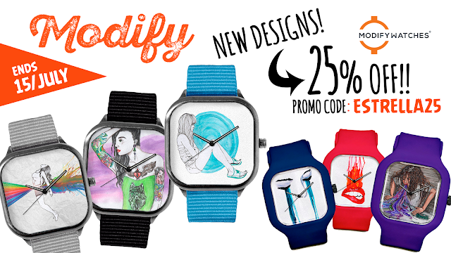 Modify Watches, promo
