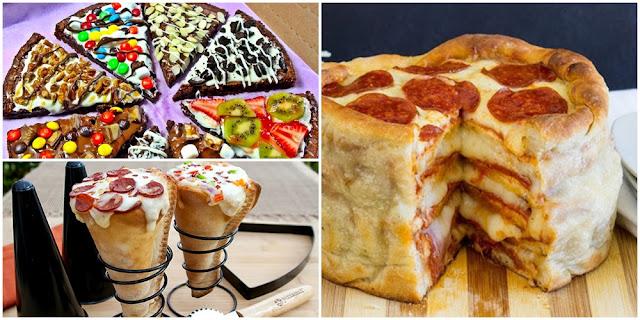 pizzas diferentes
