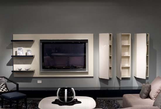 Kcadi Interior Design Group Plasma Amp Wall Units