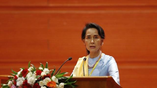 """Berulang Kali Ditutupi Akhirnya Militer Myanmar Akui Terlibat Pembantaian Rohingya, Ini Komentar """"Sok Imut"""" Suu Kyi"""