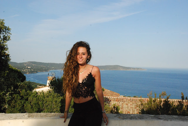 lace top black trousers and a breathtaking view, valentina rago, fashion need, fashion blogger outfit, fashion blog post, fashion blogger inspiration, lace top zara
