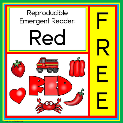 https://www.teacherspayteachers.com/Product/Emergent-reader-red-3327294