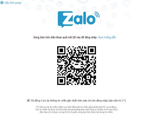 Cài đặt Zalo trên máy tính, PC d