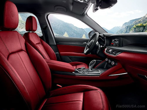 Alfa Romeo Stelvio Seats