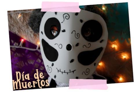 Máscara para día de muertos.