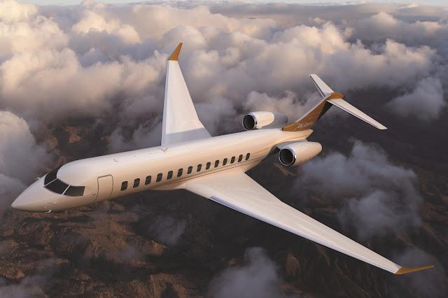 Bombardier Global 7000 Flight Test