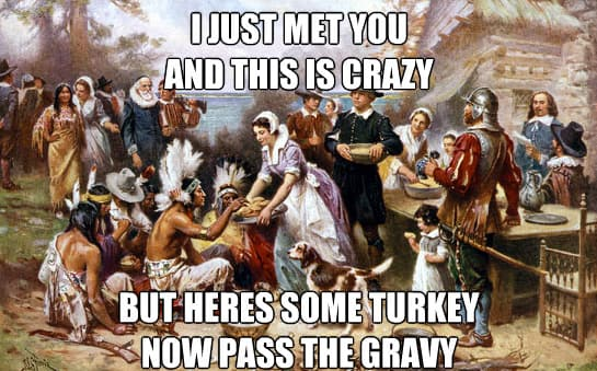 memes for thanksgiving