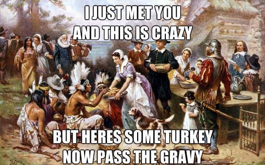 memes for thanksgiving