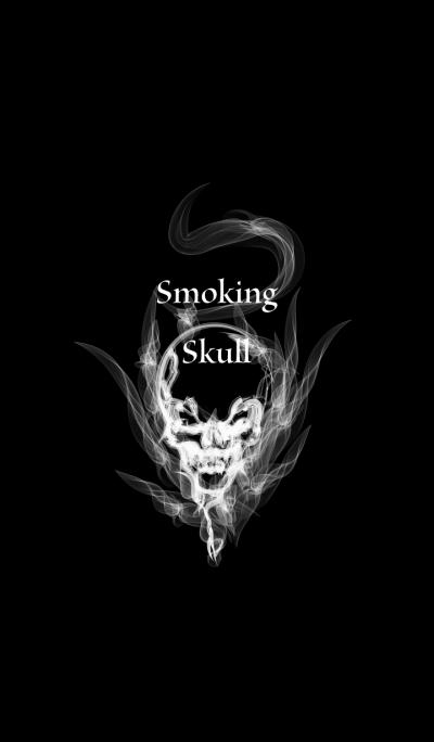 Smoking Skull 2