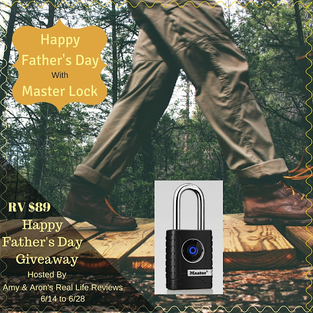 Happy Father's Day with Master Lock Giveaway - US only