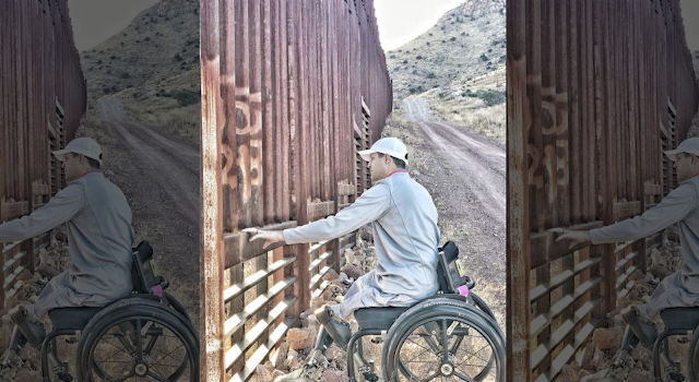 Vet founder of crowdfunding campaign to build border wall insists construction will begin within months