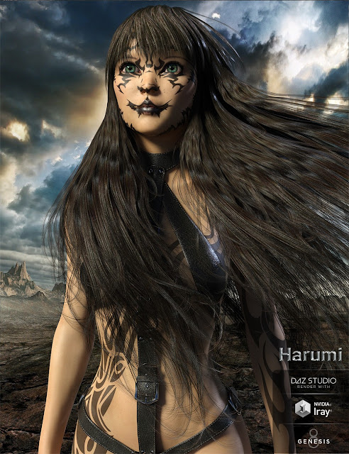 Harumi for Genesis 8 Female