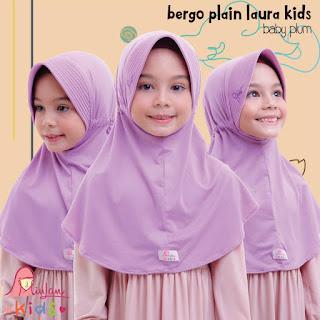 jilbab anak miulan bpl kids baby plum