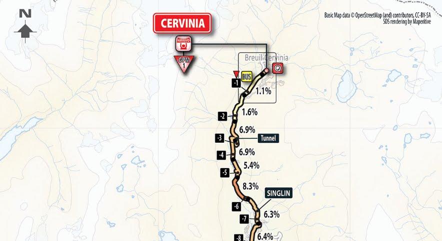 DIRETTA ultimo tappone alpino Susa arrivo in salita Cervinia: Giro d'Italia Streaming LIVE su RAI TV oggi 26 maggio 2018