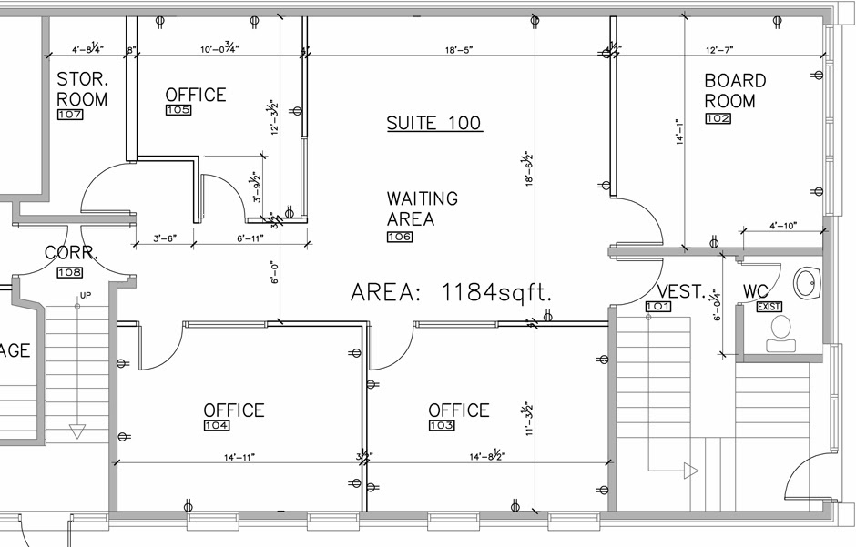 Planning a home office layout