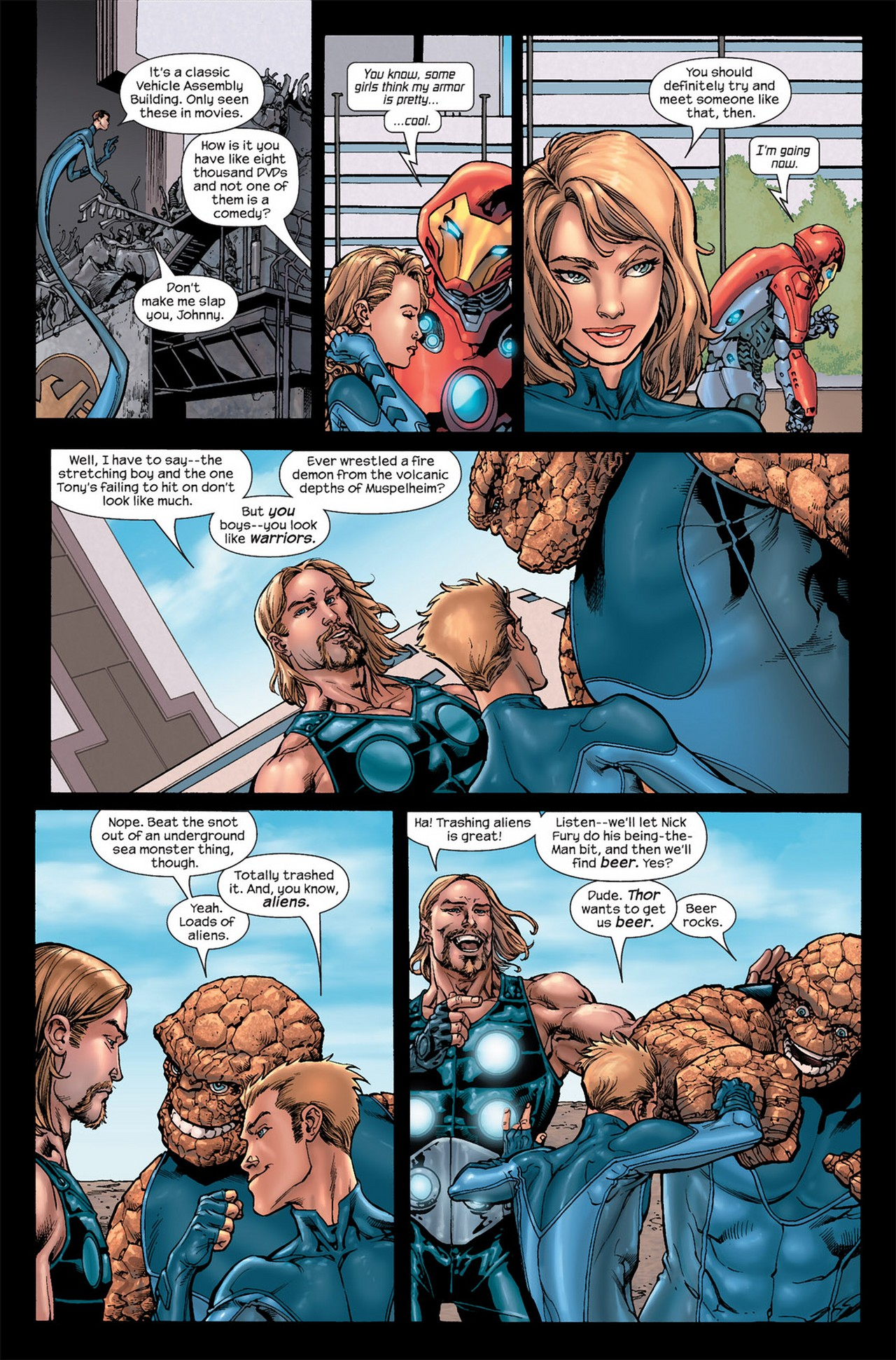 Read online Ultimate Secret comic -  Issue #3 - 4