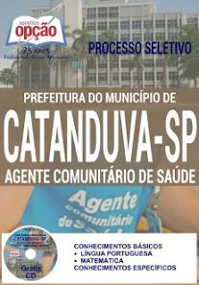 Apostila da Prefeitura de Catanduva - Agente Comunitário de Saúde