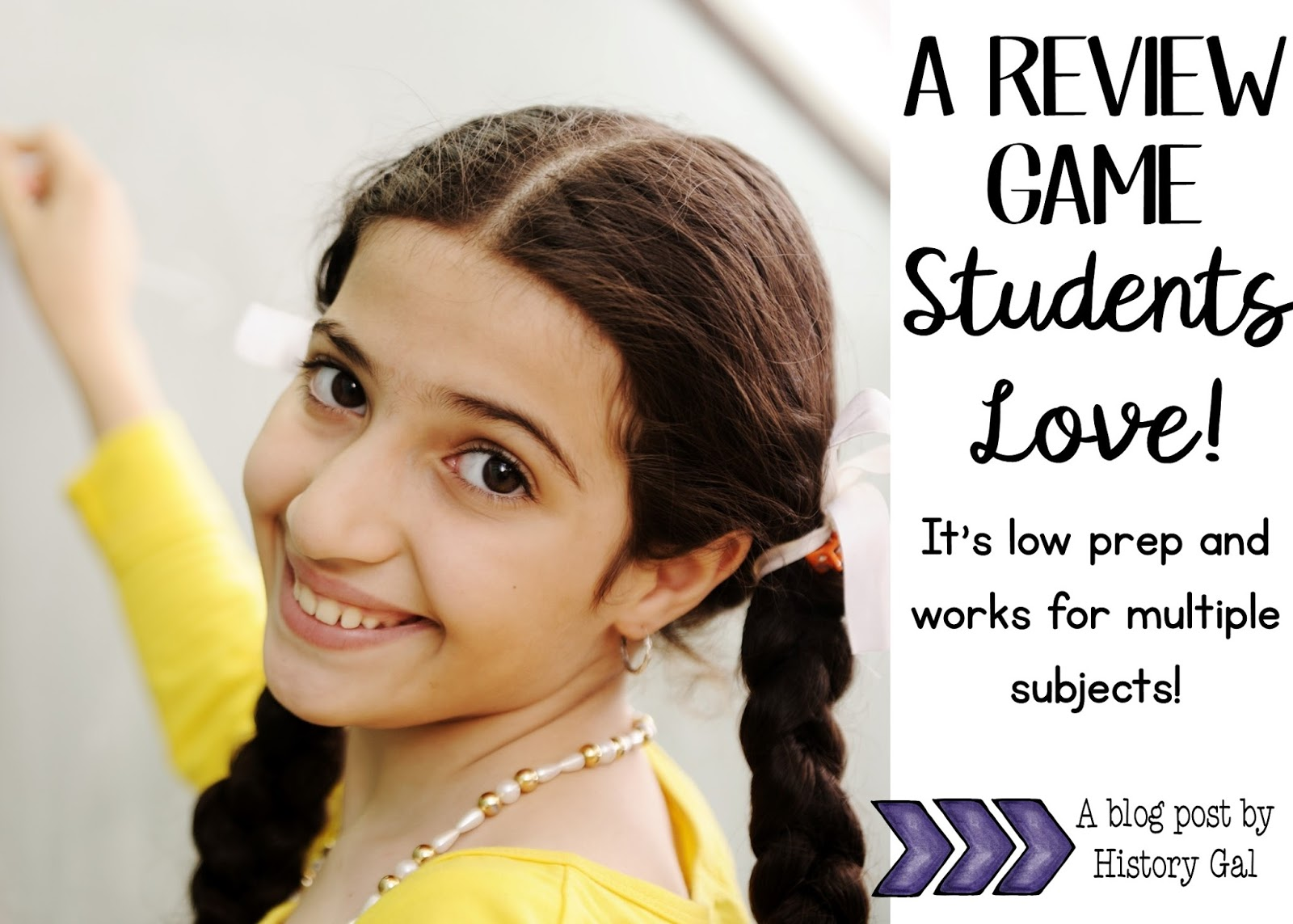 An easy, low prep review game students love by History Gal