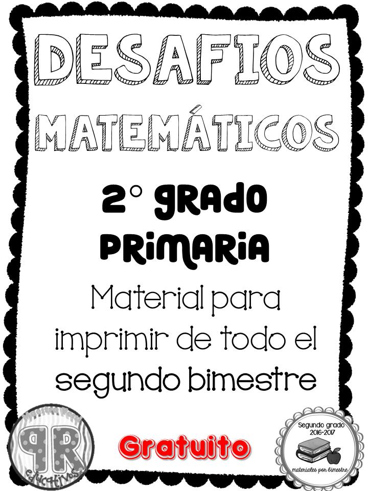 Proyectos educativos ¡Y más!: Desafíos Matemáticos Bloque II ...