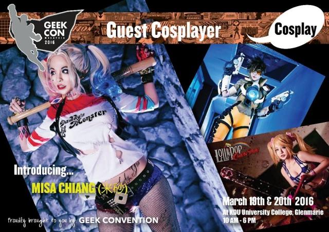 cosplay, Geek Con Malaysia, costume contest, superhero, supervillain, KDU, byrawlins,