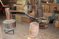 Alambique del siglo XIX