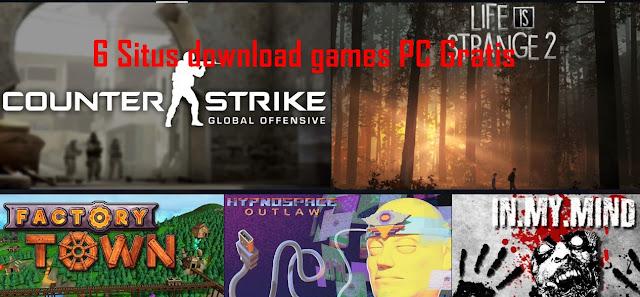 Situs tempat Download Games PC terbaik Free