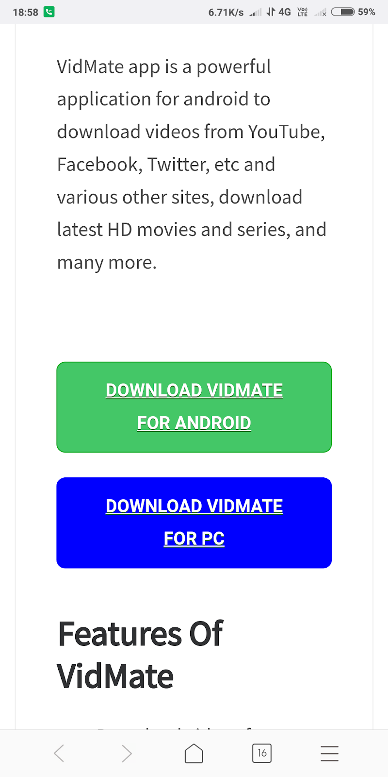 How to download vidmate app in 1minute  - Rk learning point