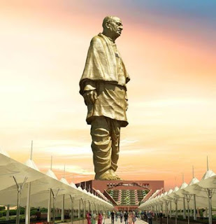In how much you will see the view of 'Statue of Unity'