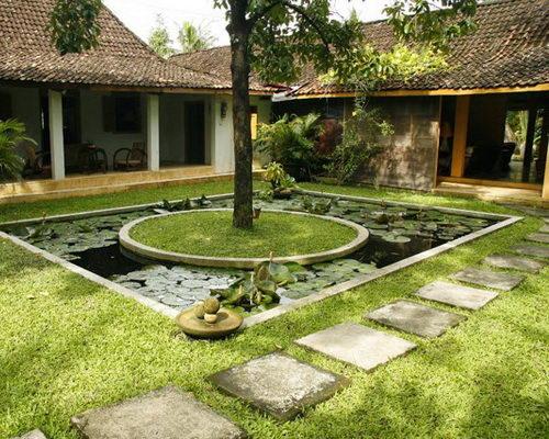 Tinuku d'Omah Hotel Yogyakarta designing layout, architecture and interior ethnographic genuine Javanese literature