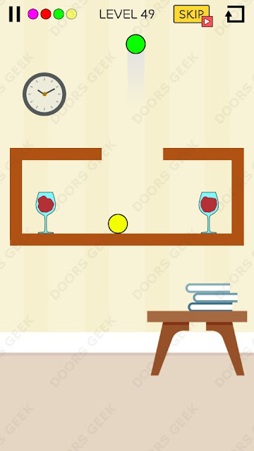 Spill It! Level 49 Walkthrough, Solution, Cheats for Android, iPhone, iPad and iPod