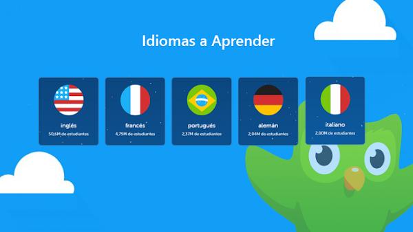 Duolingo, una aplicación para aprender idiomas mientras te diviertes