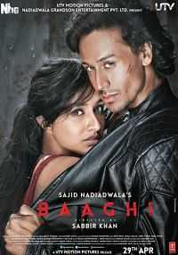 Baaghi 2016 700MB Full Movie Download DVDScr